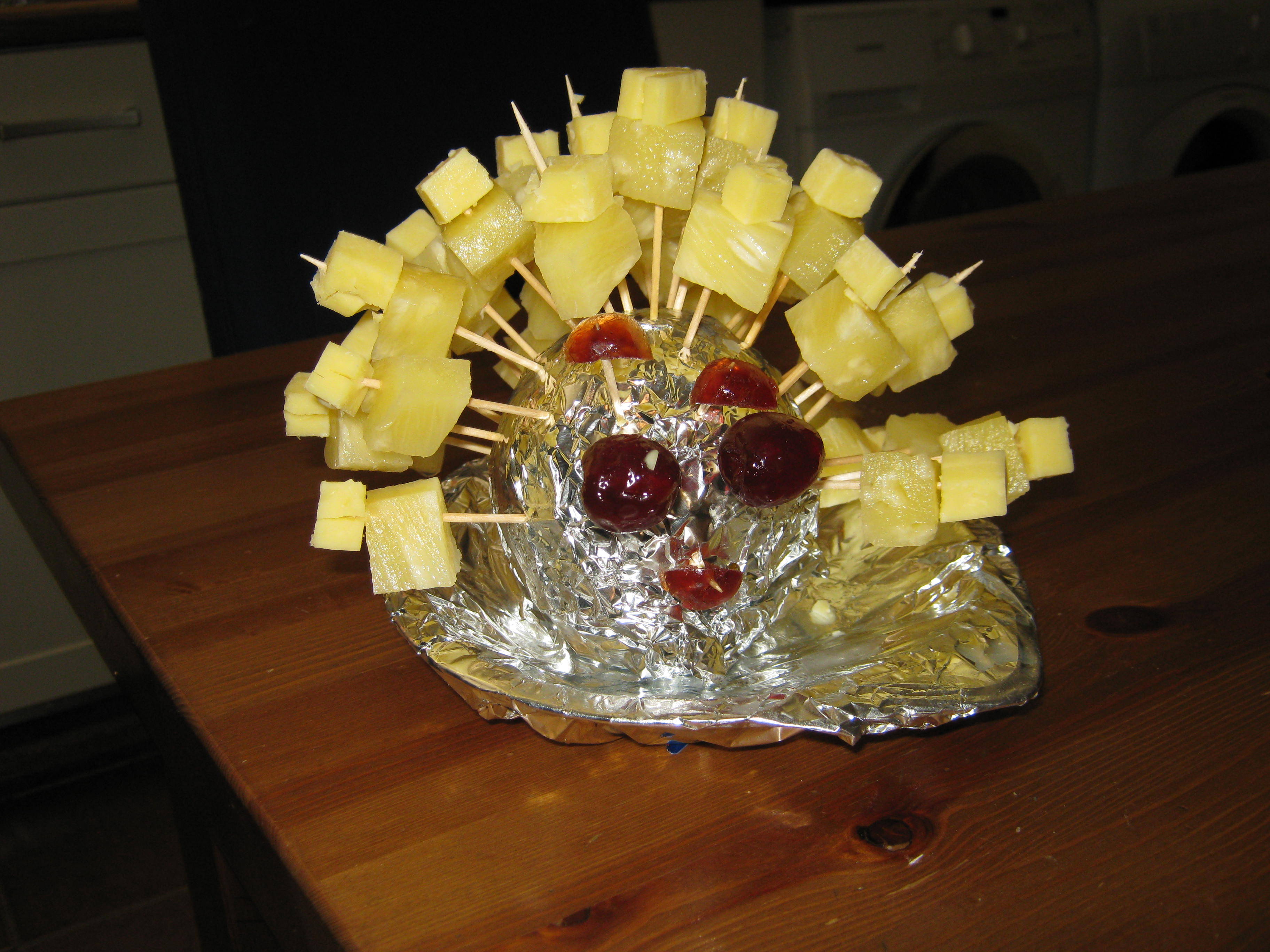 How To Make Cheese And Pineapple Hedgehogs Katyboo1s Weblog